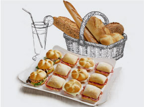 Pack catering 12-14 pax